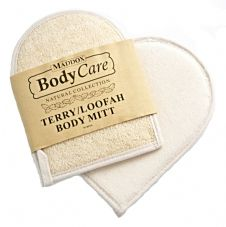 M-BP26 Terry/ Loofah Body Mitt